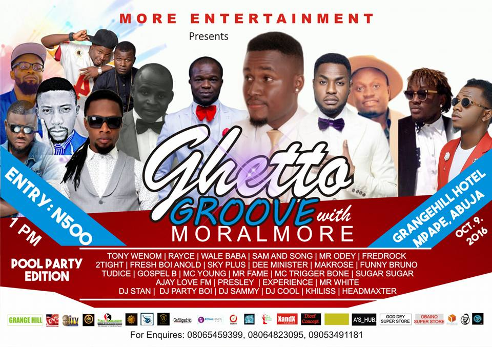 GHETTO GROOVE WITH MORALMORE