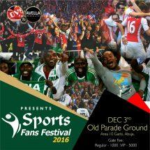 Sports Fans Festival, 2016