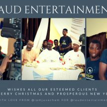 End of the Year Letter to our Clients- Laud Entertainment