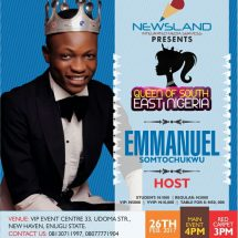 20yr old Emmanuel Somto to host Queen of South East Nigeria pageant event