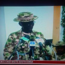 Maj. Gen. Lucky Iragbor Gives Update On North East Operations