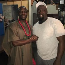 Nollywood/Yoruba Movie Giant, Femi Ogedengbe Pictured with Akon
