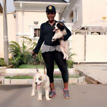 Meet Nollywood Real Dog Lover/Owner