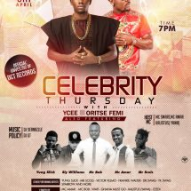 Celebrity Thursday with YCEE and Oritse Femi