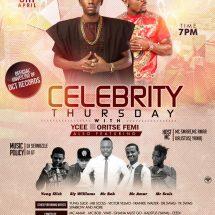 Celebrity Thursday with YCEE and Oritse Femi