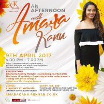 Embrace healthy lifestyle with Amara Kanu