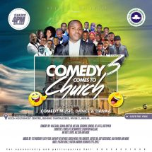 Walebaba Takes Comedy To Church