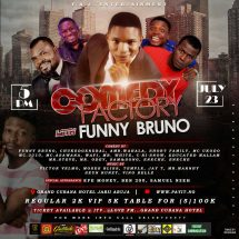 Funny Bruno debuts with maiden show, Comedy Factory