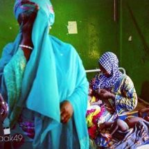 Kebbi State 1st Lady Went Emotional on Visit to State Hospital