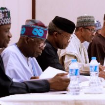 APC NEC Endorse PMB for Second Term