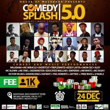Abuja To Be On Standstill For Comedy Splash