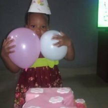 Osarugue Chidimma Enogieru, Daughter of Nigerian Filmmaker, Douglas Turns Two