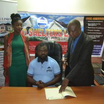 Ace Comedian Amb. Wahala Signs Mouth Watery Deal with Pugeo Shelters LTD