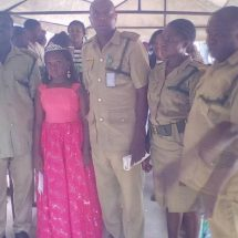 9years Old Little Face of Health Visits Suleja Prison, Donates Relief Materials