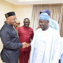 PHOTOS: Gov. Ben Ayade Hosts PDP Governors in Calabar
