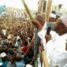 PHOTOS: APC SUPPORTERS IN KANO