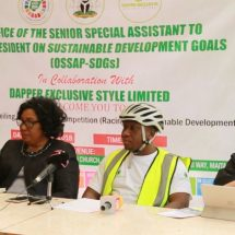 FG promotes SDGs through cycling