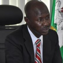 EFCC Boss Visits Lagos Chief Judge, Canvasses Media, Judiciary Support for Anti-graft War