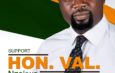 Am not Contesting to make history, i have Passion to Serve. Hon. Val Reaffirms Constituents