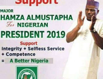 If Nigerians beg me enough, I'll run for president in 2019'—Abacha's ex CSO